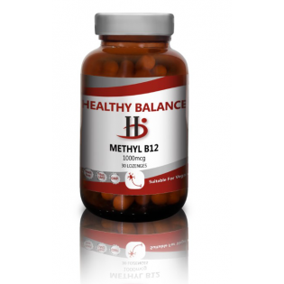Healthy Balance Methyl B12 1000mcg  100 Lozenges