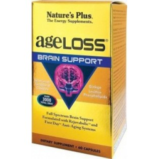Nature's Plus Ageloss Brain support 60 κάψουλες