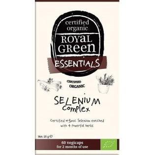 Royal Green Organic Selenium Complex 60 φυτικές κάψουλες
