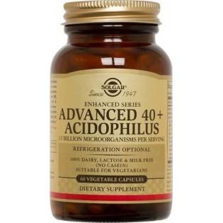 Solgar Acidophilus 40+ Advanced 60 φυτικές κάψουλες