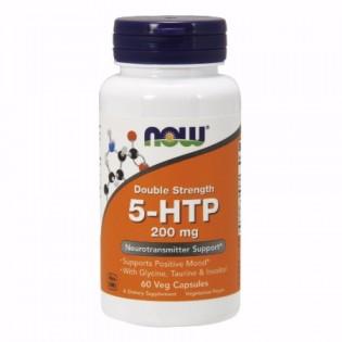 Now Foods 5-HTP Double Strength 200mg 60 φυτικές κάψουλες