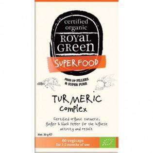 Royal Green Turmeric Complex 60 κάψουλες