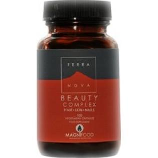 TerraNova Beauty Complex Skin Hair Nails 100 φυτικές κάψουλες