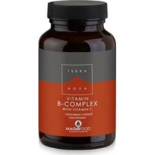 TerraNova B-Complex with Vitamin C 100 κάψουλες