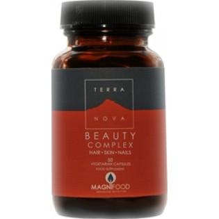 TerraNova Beauty Complex Skin Hair Nails 50 φυτικές κάψουλες