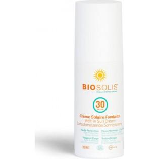 Biosolis Melt-In Cream SPF30 100ml ΠΙΣΤΟΠΟΙΗΜΕΝΟ ΒΙΟΛΟΓΙΚΟ