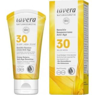 Lavera Αντηλιακό Sensitive Anti-Ageing Sun Cream SPF30 50ml
