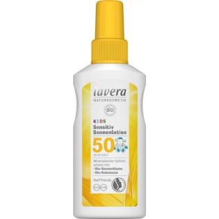 Lavera Παιδικό Αντηλιακό Sensitive Sun Lotion for Kids SPF50 100ml
