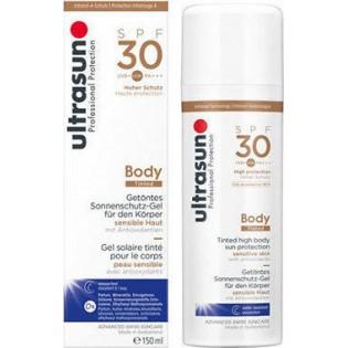 Ultrasun Professional Protection Body Cream Tinted Honey SPF30 150ml