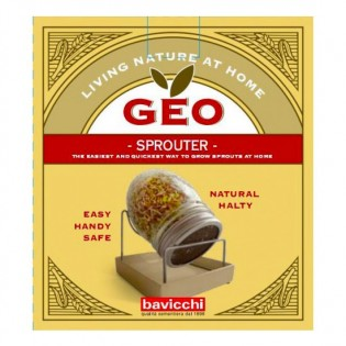 Geo Γυάλινο Βάζο Βλάστησης Spouting Jar