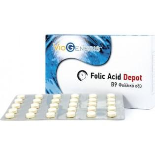 Viogenesis Folic Acid Depot 600μg 90 ταμπλέτες