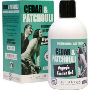 Apiarium Cedar & Patchouli Organic Shower Gel 300ml