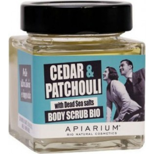 Apiarium Cedar & Patchouli Body Scrub Bio 410gr