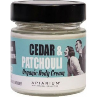 Apiarium Cedar & Patchouli Organic Body Cream 200ml