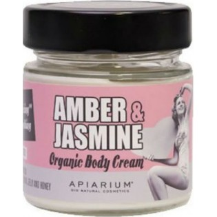 Apiarium Amber & Jasmine Organic Body Cream 200ml
