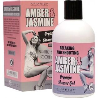 Apiarium Amber & Jasmine Organic Shower Gel 300ml