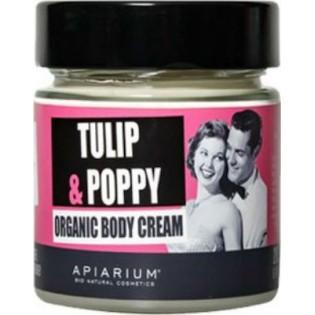 Apiarium Tulip & Poppy Organic Body Cream 200ml