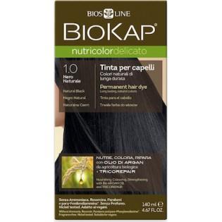 Biosline Biokap Nutricolor Delicato 1.00 Natural Black (Φυσικό Μαύρο)