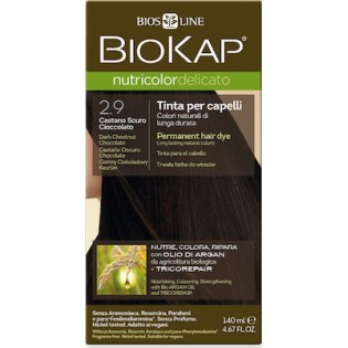 Biosline Biokap Nutricolor Delicato 2.90 Dark Chestnut Chocolate (Καστανό Σκούρο Σοκολατί)