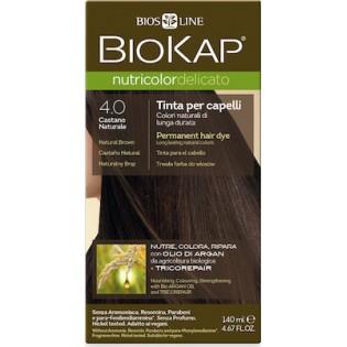 Biosline Biokap Nutricolor Delicato 4.00 Brown (Καστανό Φυσικό)