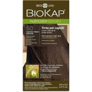 Biosline Biokap Nutricolor Delicato 5.00 Natural Light Chestnut (Φυσικό Ανοιχτό Καστανό)