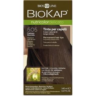 Biosline Biokap Nutricolor Delicato 5.05 Chestnut Light Brown (Καστανό Ανοιχτό)