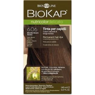 Biosline Biokap Nutricolor Delicato 6.06 Dark Blonde Havana (Ξανθό Σκούρο Ανανά)