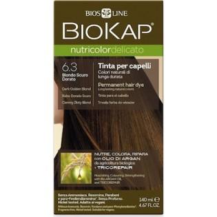 Biosline Biokap Nutricolor Delicato 6.30 Dark Golden Blonde (Ξανθό Σκούρο Χρυσαφί)