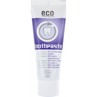 Ecocosmetics Οδοντόκρεμα Μαύρο Κύμινο Χωρίς Fluoride 75ml ΒΙΟ