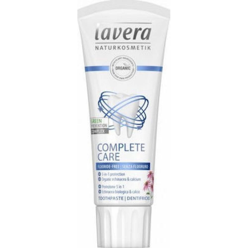 Lavera Complete Care Fluoride-Free Toothpaste (Οδοντόκρεμα με Εχινάκεια) 75ml