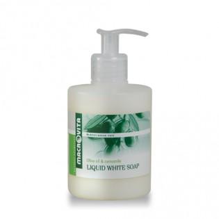 Macrovita Υγρό Λευκό Σαπούνι με Λάδι Ελιάς & Χαμομήλι 300ml