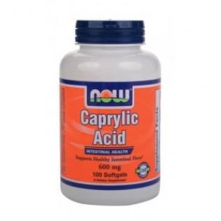 CAPRYLIC ACID 600mg 100sgels