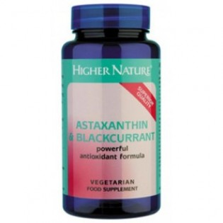 Higher Nature Astaxanthin and BlackCurrant 30 κάψουλες