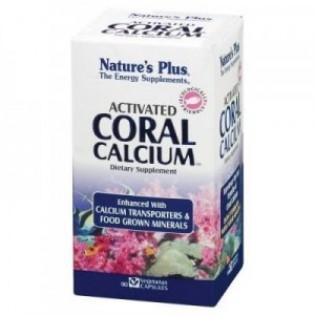 Nature's Plus Activated Coral Calcium 90 φυτικές κάψουλες