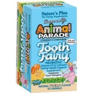Nature's Plus Animal Fairy Parade Tooth 90 μασώμενες ταμπλέτες