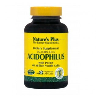 Nature's Plus Acidophilus 90 φυτικές κάψουλες