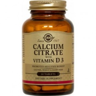 CALCIUM CITRATE 250mg with VITAMIN D3 tabs 60s