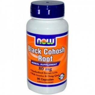 BLACK COHOSH 80mg 90caps