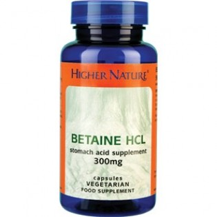 Higher Nature Betaine HCL 90 κάψουλες