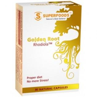 GOLDEN ROOT RHODIOLA (ΧΡΥΣΗ ΡΙΖΑ RΗODIOLA) 250mg 30caps