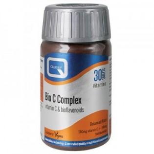 Quest Naturapharma Bio C Complex Bioflavonoids 500mg 30 ταμπλέτες