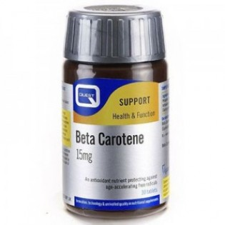 Quest Naturapharma Beta Carotene 15mg 30 ταμπλέτες