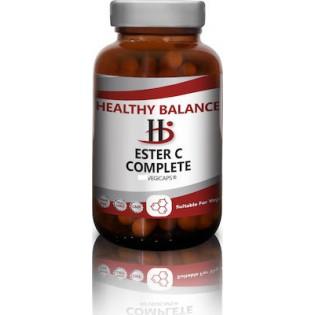 Healthy Balance Ester C Complete 120 φυτικές κάψουλες