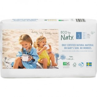 Naty Midi Πάνες Νo3 (4-9kg) 30τμχ