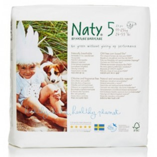 Naty Junior Πάνες Νο5 (11-25kg) 22τμχ