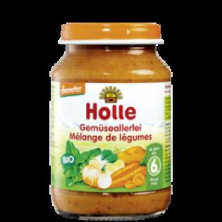 Holle Κρέμα σε Βάζο Ανάμεικτα Λαχανικά 190gr