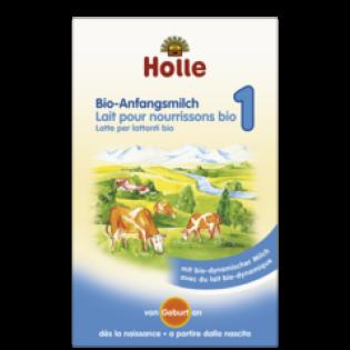 Holle Βιολογικό Βρεφικό Αγελαδινό Γάλα No 1 400gr
