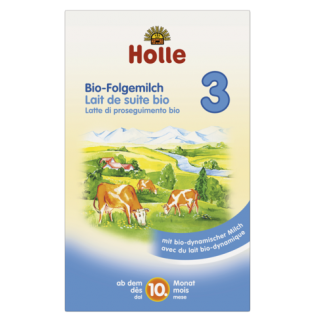 Holle Βιολογικό Βρεφικό Αγελαδινό Γάλα No 3 600gr