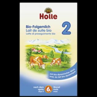Holle Βιολογικό Βρεφικό Αγελαδινό Γάλα No 2 600gr