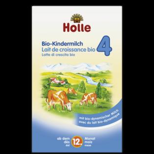 Holle Βιολογικό Βρεφικό Αγελαδινό Γάλα No 4 600gr